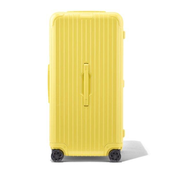 Original Trunk Plus Aluminum Suitcase | Saffron Yellow | RIMOWA