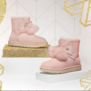 无门槛8折 €135收经典款UGG 多款雪地靴热卖 好看到飞起 暖暖过寒冬