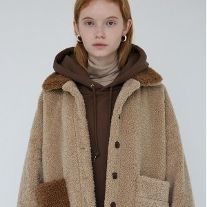 低至3折+额外8折+免邮独家:W Concept 皮草毛毛外套私卖会 本季最后一次收冬装外套