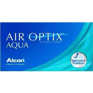 Air optix买$4盒 可享额外$20 rebate返现月抛隐形眼镜 1盒6片装