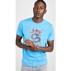 KenzoDragon Print Tee Shirt