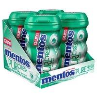 Mentos 无糖木糖醇口香糖 绿薄荷口味 50粒装 共4瓶