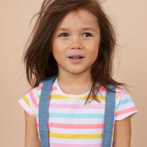 低至$4.99新品上市:H&M 儿童 Conscious 环保系列服饰热卖