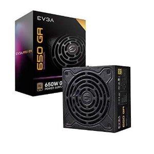 $64.99 10年质保EVGA SuperNOVA 650 GA 650W 80Plus 金牌 全模组电源