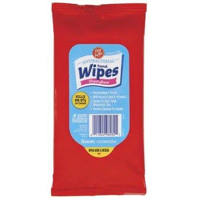 Big Win 抗菌消毒湿巾 15张