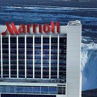 尼亚加拉大瀑布 Marriott 万豪大酒店 加拿大侧
