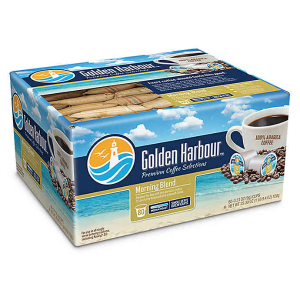 $7.99Golden Harbour™ Morning Blend Coffee for Single Serve Coffee Makers 80-Count