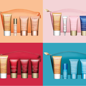 FREE 5-Piece Anti-Aging Gift With any $100 order @ Clarins