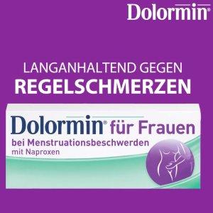 仅€11.29收30片(原价€14.99)Dolormin 女性经期止痛片 缓解疼痛长达12小时 姨妈痛经救星