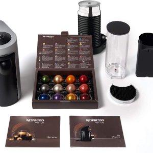 现价£79(原价£179.99)Nespresso 胶囊咖啡机热促 买就赠100粒胶囊
