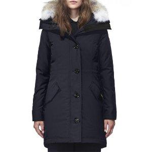 Canada GooseRossclair Fur-Trim Hooded Down Parka