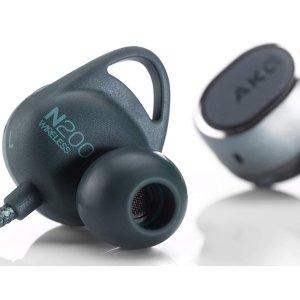 $79.99(原价$199.99)AKG N200 无线蓝牙耳机 支持AptX