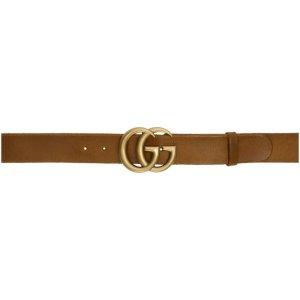 Gucci- Brown GG Belt