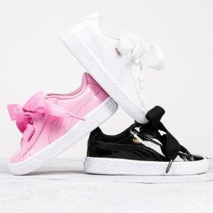 袜子6双$6.99 包邮PUMA 儿童服饰及运动鞋额外7折促销,母女鞋搭起来