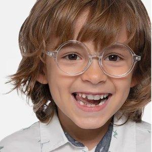 EyeBuyDirect透明圆框儿童眼镜
