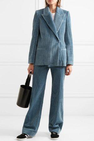 Victoria, Victoria Beckham | Cotton-corduroy blazer | NET-A-PORTER.COM