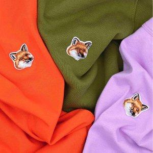 5.5折起 卫衣低至€93Maison Kitsuné 捡漏 低价收古灵精怪的小狐狸卫衣、T恤 手慢无