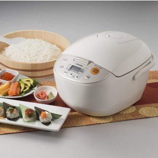 Zojirushi NL-AAC18 Micom Rice Cooker (Uncooked) and Warmer, 10 Cups/1.8-Liters