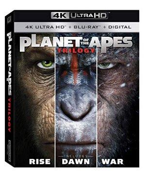 $16.96(原价$24.96)热门电影《猩球崛起 三部曲》4K Ultra HD Digital