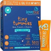 Lovebug Probiotics 婴幼儿益生菌30袋冲剂,12个月-4岁