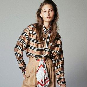无门槛7折Burberry 服饰、鞋履、包包特卖 新款也参加