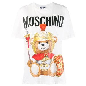 Moschino经典小熊T恤