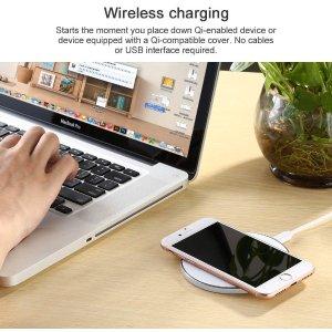低至3.5折 充电变得简单快捷Limxems 手机无线充电器热卖 适合iPhone、三星等大部分手机