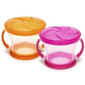 $5.99(原价$11)Munchkin 麦肯奇宝宝零食碗两个装