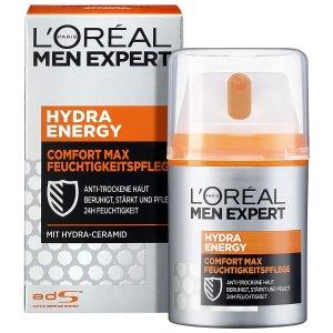 仅€4.86收50mlL'Oréal Men Expert 欧莱雅男士劲能护肤 早晚霜