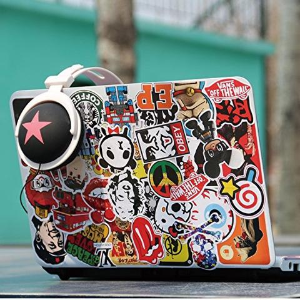 $8.49Breezypals Laptop Stickers Car Motorcycle Bicycle Luggage Decal Graffiti Patches Skateboard Stickers for Laptop @ Amazon.com
