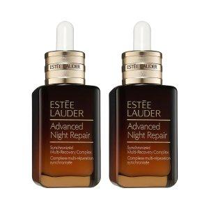 Estee Lauder价值$260小棕瓶精华2瓶装