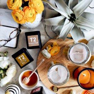 折上7.5折 澳洲国民最爱折扣升级:T2官网 精选茶具、茶叶热卖