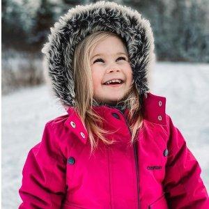 低至5.5折+额外7.5折Carters 滑雪服等防寒套装等清仓 滑雪服$45起 套装$60
