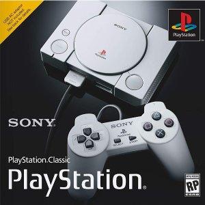 $99.99 包含20款经典游戏预售:Sony PlayStation Classic 怀旧游戏主机