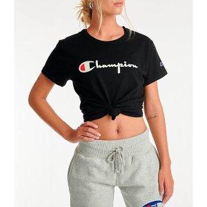 Champion女款运动T恤