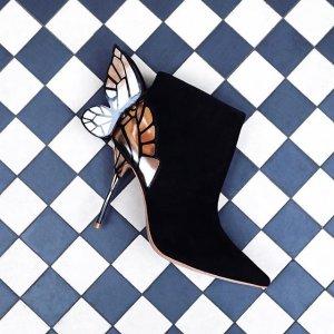 低至6折Sophia Webster 蝴蝶鞋促销 让蝴蝶在脚尖翩翩起舞