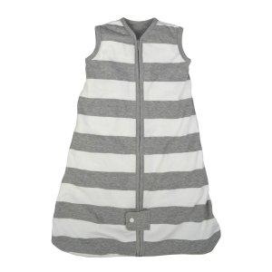 Burt's Bees BabyBeekeeper™ Grey Rugby Stripe Organic Baby Wearable Blanket