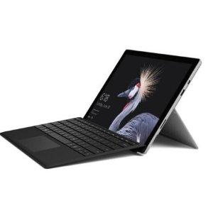 $1146(原价$1499)回国可退税Microsoft Surface Pro 5 Windows 10 i5/8GB/128GB