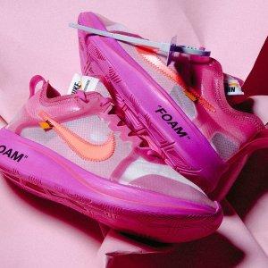 $170,明日发售Off-White x Nike Zoom Fly SP 两色发售