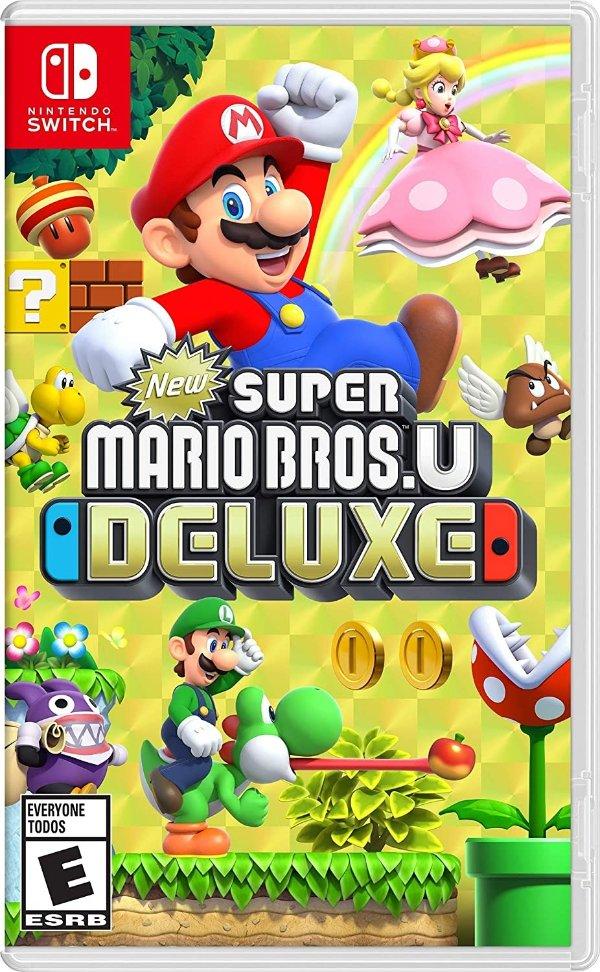 《新超级马里奥兄弟U 豪华版》 Nintendo Switch 实体版