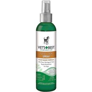 Vet's BestFlea + Tick Spray for Dogs, 8-oz bottle - Chewy.com