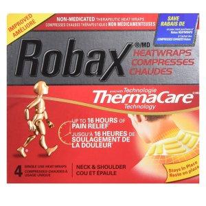 $8.66 (原价$11.69)Robax  爆款肩颈发热止痛贴,低头族码农必备