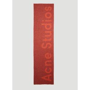Acne StudiosLOGO 围巾