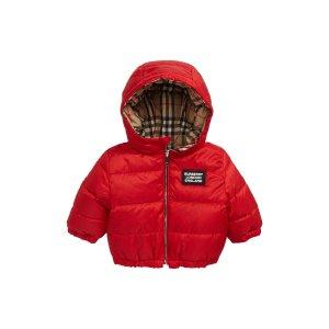 6折起 包邮包退Burberry 儿童服饰促销 秋冬服饰换季低价