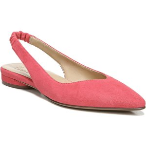 Naturalizer.com |Halo Flat in Coral Blush Leather Flats