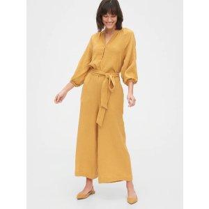 Gap姜黄色连体衣
