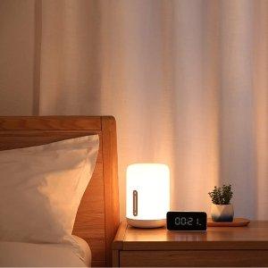 特价€37收 支持语音助手小米 智能床头灯热卖 手机APP控制 1600万种颜色可选