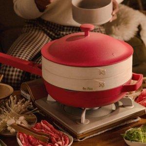 网红锅8折+免邮 套装立省$45Our Place 高颜值小清新厨具餐具 煎炸烹煮蒸五合一