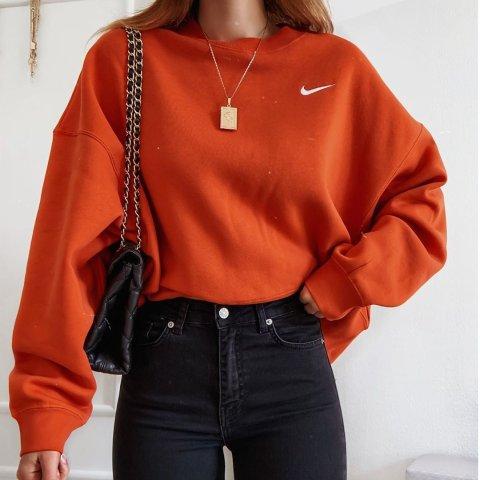 $30起+包邮Nike 女款焦糖南瓜色 灿烂的秋季橘色服饰、鞋履上新