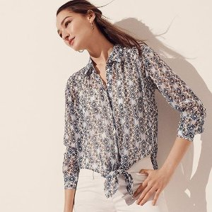 Up to 60% Off+Extra 20% Off $100Ann Taylor Factory Women's Clothing Sale